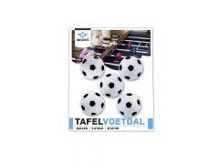 Tafelvoetbalballetjes Z/W 5 Stuks