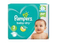 Pampers Baby Dry Midi 72St Jumbo