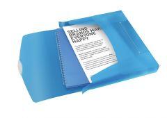 Vivida Documentenbox Pp Blauw