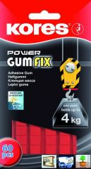 Kores Gumfix Fower 60Squares Blister
