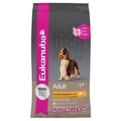 Euk Adult Lam Rice Small Med Breed 2.5Kg