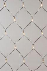Net Ricelights Voor Buiten 100L-1X1.3M Zwart/Helder