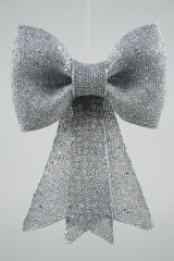 Plc Strik M Glitter M Hanger 23X31Cm Zilver