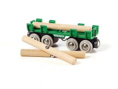 Brio Wagon Voor Houttransport