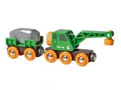 Brio Wagon Met Ingenieuze Kraan