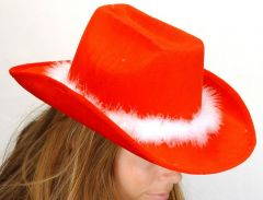 K Cowboyhoed Kerst 36X28X15Cm