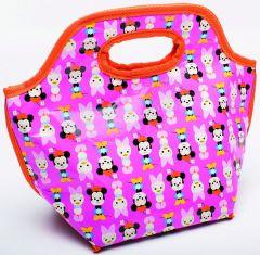 Zak Design Minnie Big Face Schooltas 25X30Cm Oranje/Roze