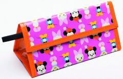 Zak Design Minnie Big Face Lunchtas Oranje/Roze
