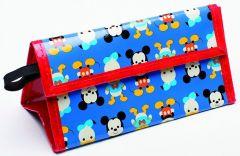 Zak Design Mickey Big Face Lunchtas Blauw