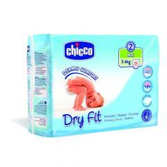Chicco Dry Fit Luiers Maat 2 Mini 3-6Kg 25St