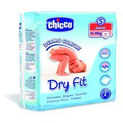 Chicco Dry Fit Luiers Maat 5 Junior 12-25Kg 17St