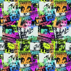 Mtv Boys Rol Kaftpapier 2X100X70Cm -80Gr