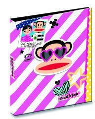 Paul Frank Mini Ringband A4 Pp-Cover