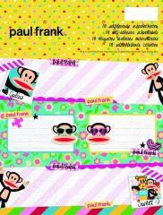 Paul Frank Map 18 Schooletiketten