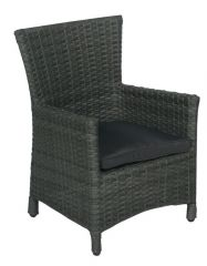 Nicosia Kinder Dining Fauteuil Earl Grey 7Mm/Antra