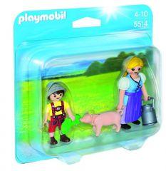 Playmobil 5514 Duopack Boerin En Zoon