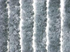 Deurgordijn Fluweel 100X220 Cm Lichtgrijs