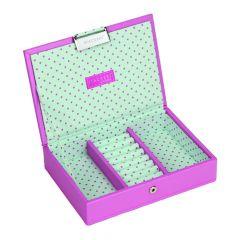 Stacker Mini Junior Pink Polka Top