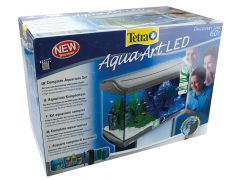 Tertra Aquaart Led Antrac 60L