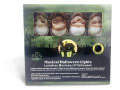 Halloween doodskoppen lichtslinger