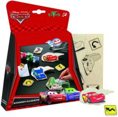 Totum Disney Cars Houten Magneten