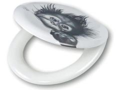 Tiger Wc-Zitting Monkey Design
