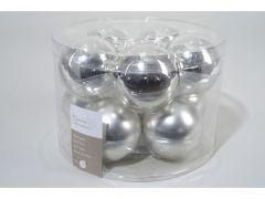 Effen Mach. Ballen 50%G-50%M 60Mm Zilver