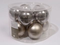Effen Mach. Ballen Emaille-Mat 60Mm Wol Grijs