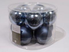 Effen Mach. Ballen Glans-Mat 60Mm Jeans Blauw