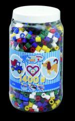 Hama Maxi Parels In Tub Mix 00 1400 Stuks