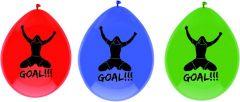 Goal Ballonnen 6 Stuks