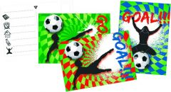 Goal Uitnodigingskaartjes