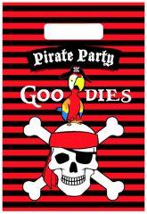 Piraten Partybags 6 Stuks