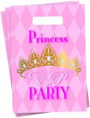 Princess Partybags 6 Stuks