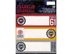 Franklin & Marshall Boys Map 18 Schooletiketten