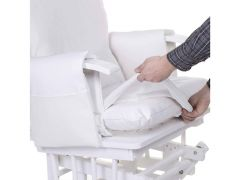 Kussen Hoes Voor Gliding Chair Wit