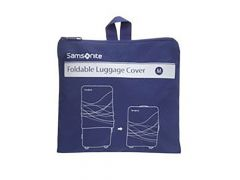 Samsonite Travel Accessories Foldable Luggage Cover M Indigo Blue