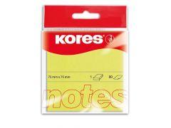 Kores Yellow Blok 100 Memo Notes 75X75Mm