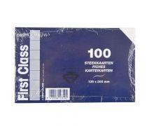 Fichen 125X200Mm Wit Gelijnd 100St