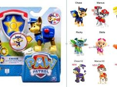 Paw Patroll Action Pack Pup & Badge