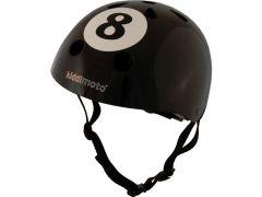 Kiddimoto Fietshelm 8 Ball Medium