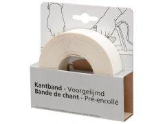 Kantband meubelpaneel 24mm wit (7,5 meter)