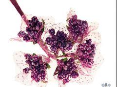 Deco Bolletjes 12Stuks Fuchsia