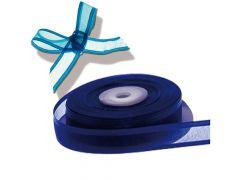 Organza Satijn Lint 10Mm X 25M Blauw