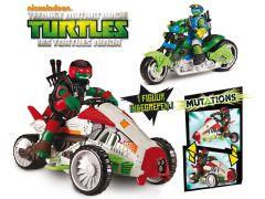 Teenage Mutant Ninja Turtles Mutation Deluxe Voertuig Met Figuur 12Cm