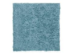Badtapijt Shaggy Microfiber Antislip 60X60 Blue