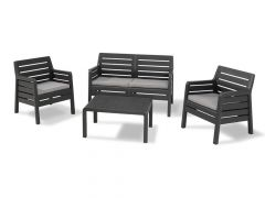 Allibert Dana Lounge Set Graphite