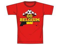 Belgium T-Shirt Rood Men Xxlarge