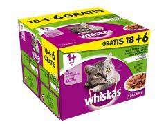Whi Pouch 1+ Vis&Vlees Gelei 18+6