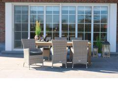 T Lombock Tafel 160X82Cm Recycled Teak Natural Finish
